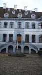Basel blaues Haus eines Seidenfabrikanten
