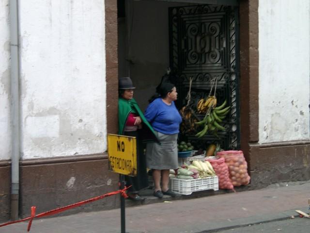tienda indigena en Quito