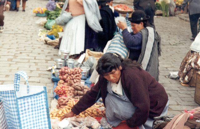 La Paz -el mercado