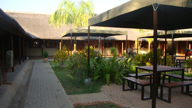 Lodge im Chobe Park