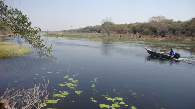 Maun, am Okawangodelta