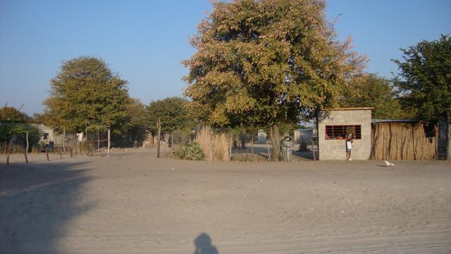 Maun Dorfladen nahe der Lodge