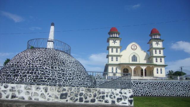 John Williams Denkmal auf Savaii