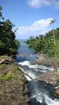 Samoa Falefa falls Fluss