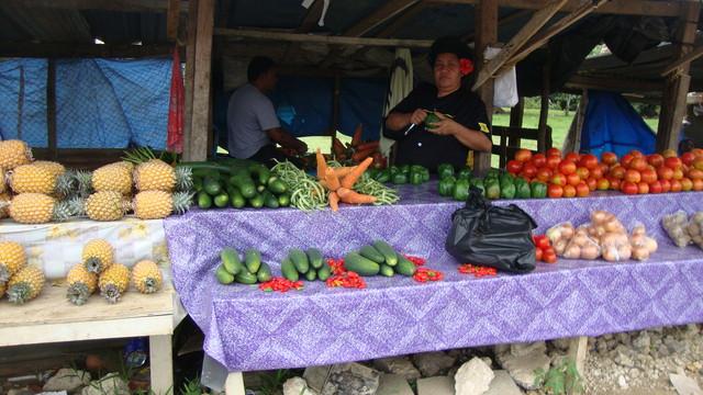 Marktstand in Nuku'alofa