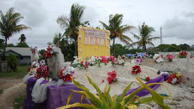 Friedhofsgrab auf Tonga