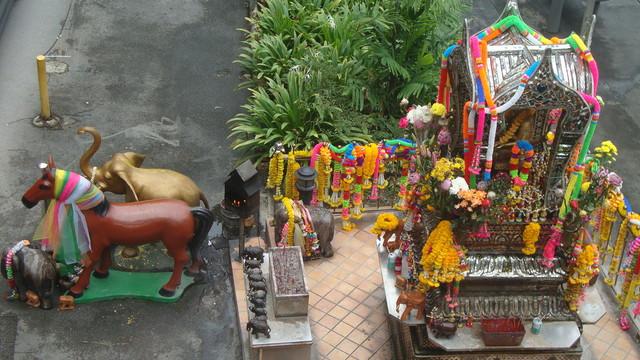 Thai Tempel nahe Busbahnhof