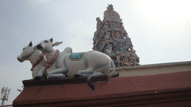 Hindutempel in Chinatown