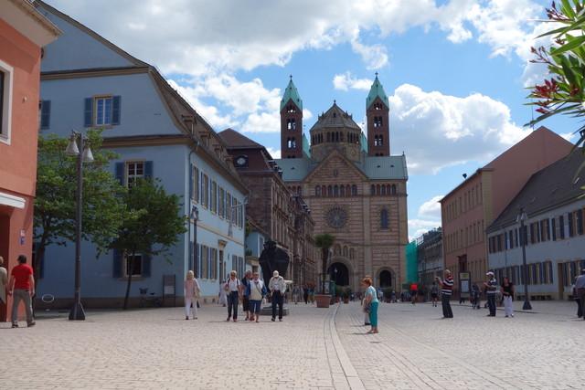 Von der Maximilianstr. zum Kaiserdom zu Speyer