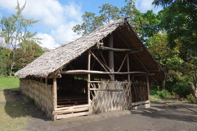 Bambushaus auf Vanuatu