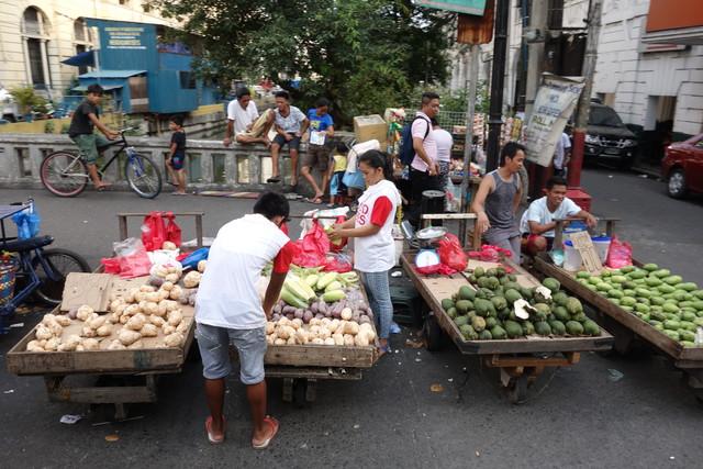Manila fliegender Markt