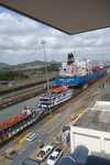 Panamakanal Schleusenausfahrt