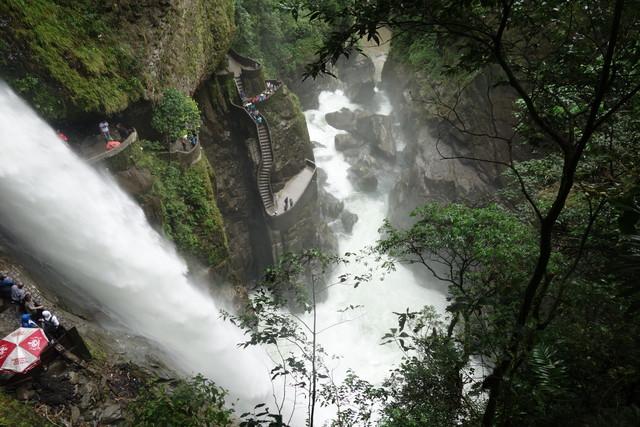 Teufelsschlucht am Tungurahua