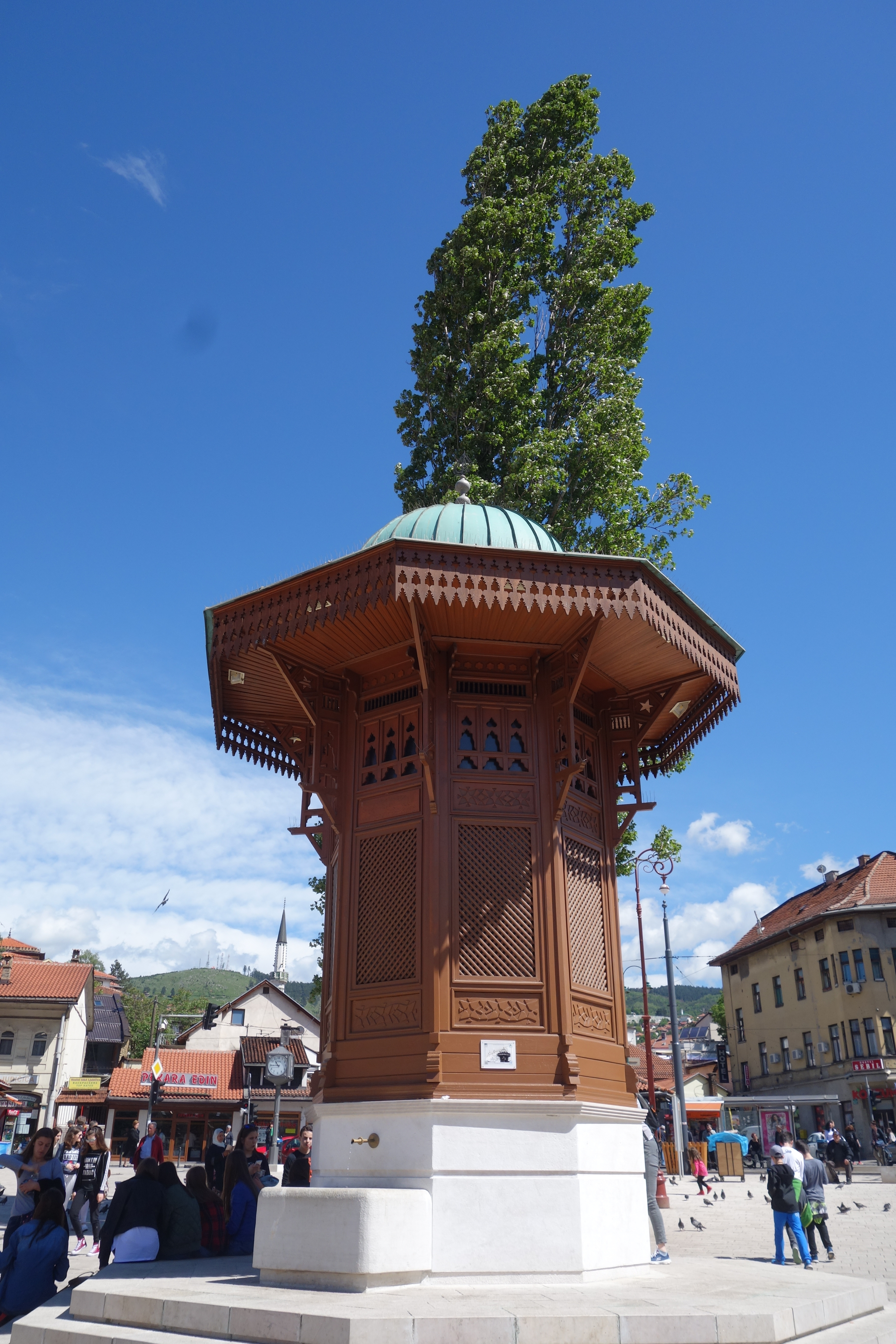 Sarajevo Sebij-Brunnen