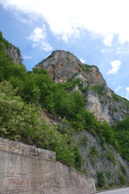 Weg nach Visegrad
