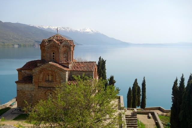Sv Jovan Kirche in Ohrid
