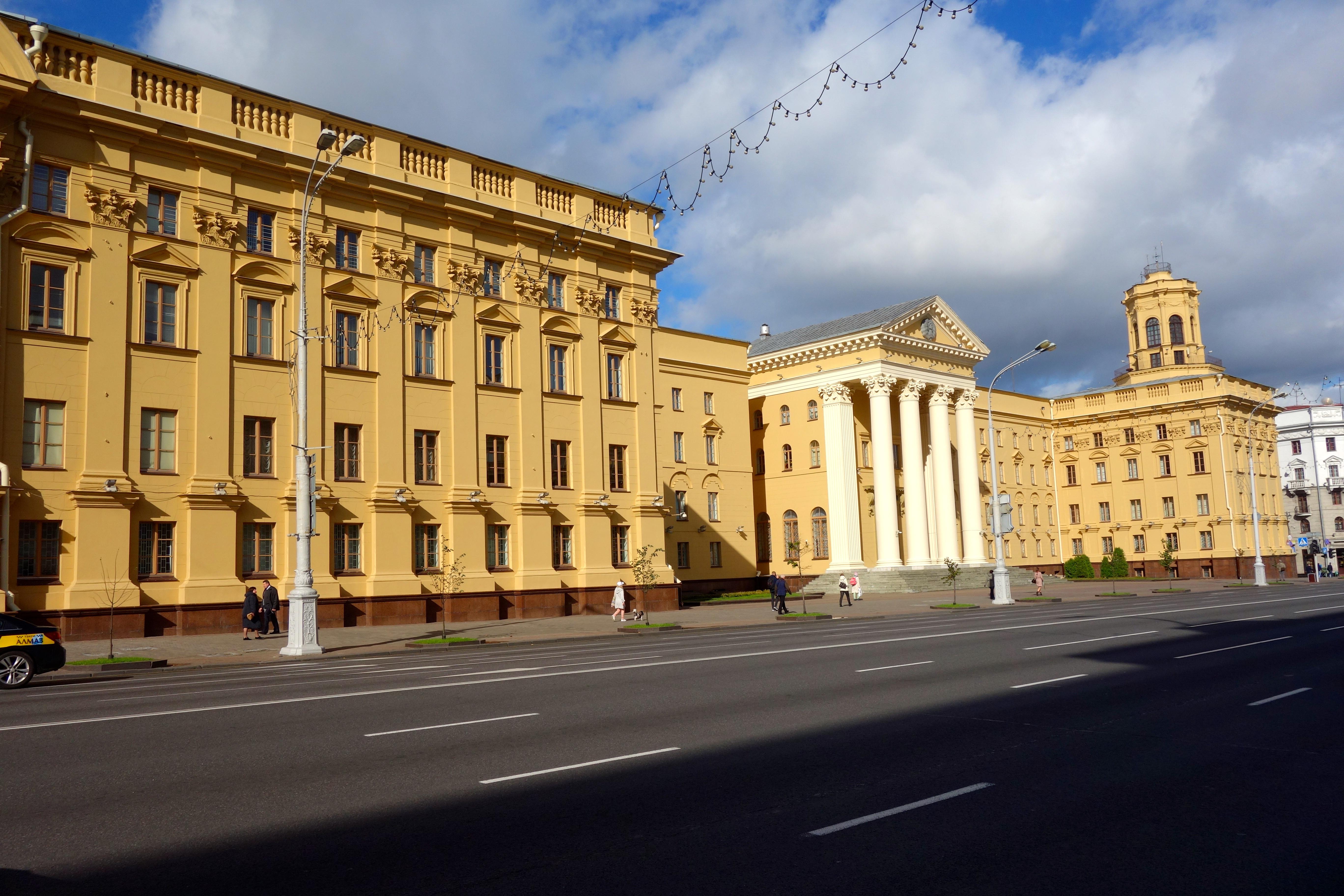 Minsk Unabhängigkeitsstraße