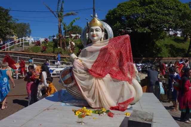 Am Grand Basin, dem heiligen See der HIndus auf Mauritius