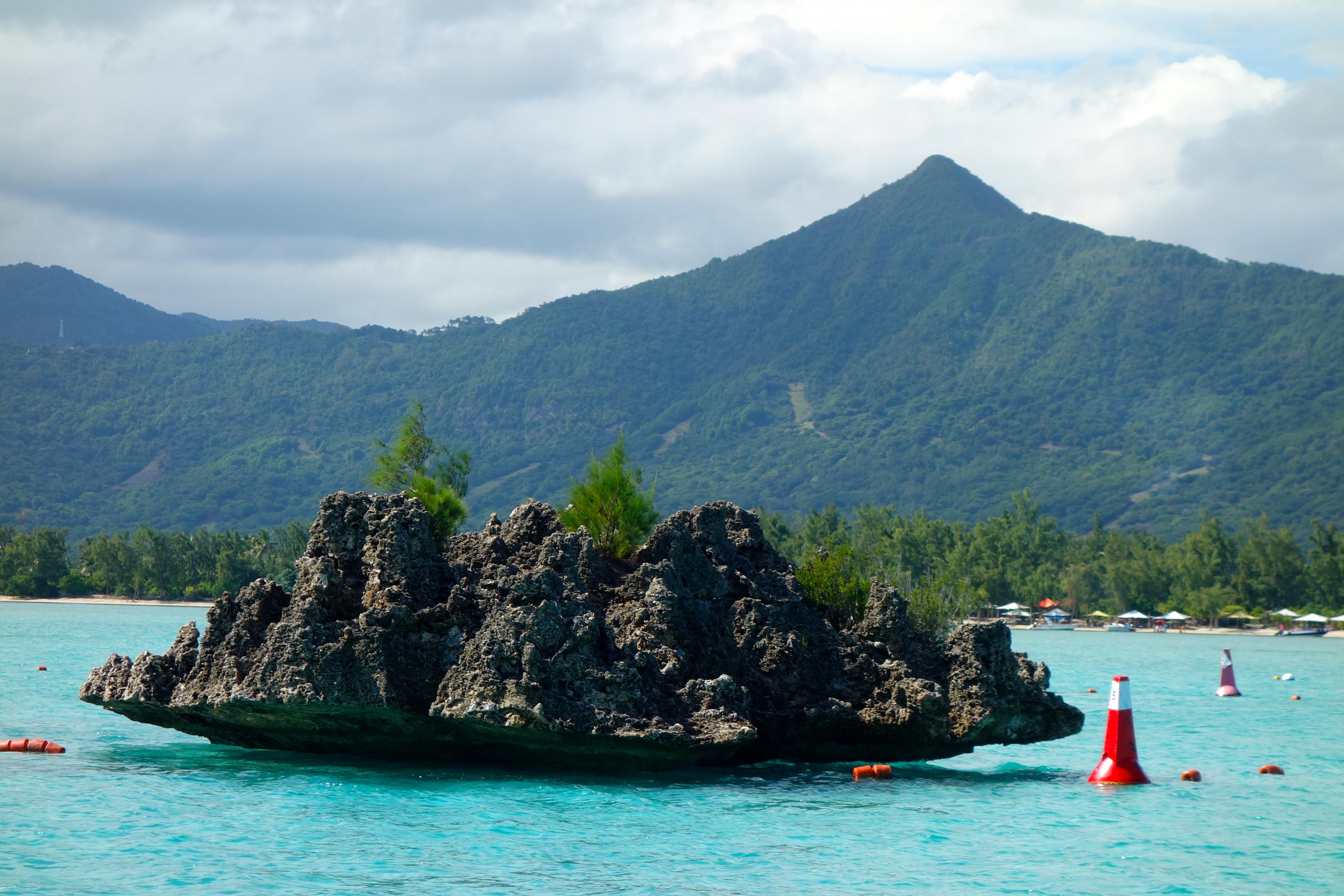 Crystal Rock heutzutage: die Barrieretonnen sollen dieses Korallenriff schützen, aber es sieht nicht mehr schön aus