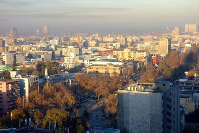 Santiago vista del RQ torre