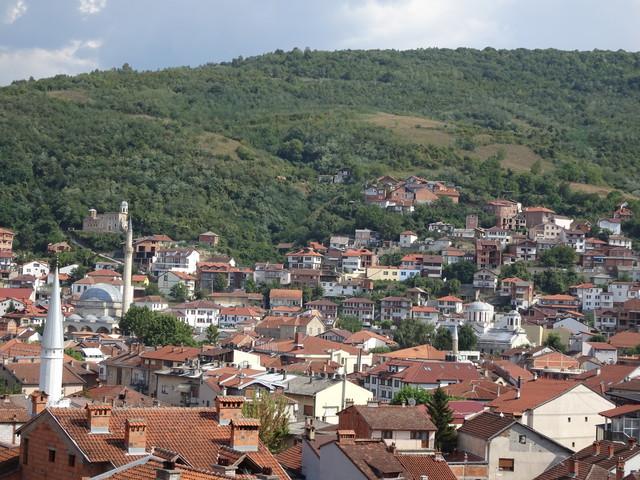 Blick auf Prizren vom Uhrturm