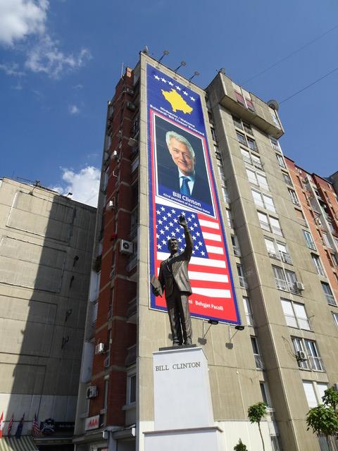 Bill-Clinton-Denkmal