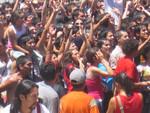 love parade in Santiago