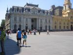 Postamt und Museum an der Plaza de Armas