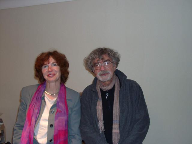 Astrid Kaiser und Humberto Maturana