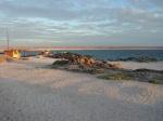Playa de Bahia Inglesa en la noche