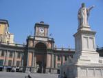 Statue Dante Aligheri