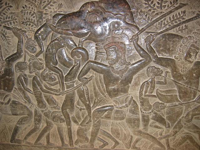 K Angkor Wat Relief