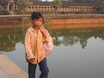 K Kind vor Angkor Wat
