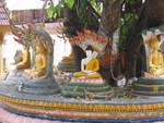 Vientiane am  Wat Si Muang
