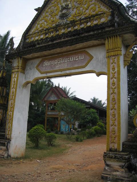 tempel in Vang vieng