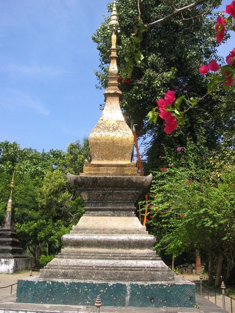 Luang Prabang Stupa im Wat Xieng Thong