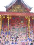 Luang Prabang rote Kapelle