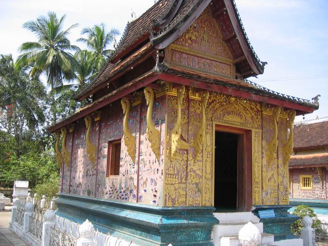 Luang Prabang im Wat Xieng Thong