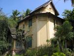 Luang Prabang leer stehende Villa