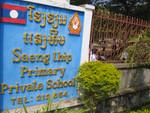 Privatschule in Luang Prabang
