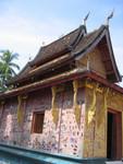L Luang Prabang rote Kapelle