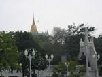 Bangkok Blick zum Golden Mount