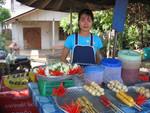Marktfrau Nong Khai
