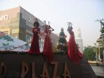 Weihnachtsdekoration in Bangkok