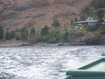 Bootsfahrt nach Hostal Pangal