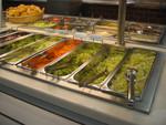 Salate im Angebot und wenig Nachfrage