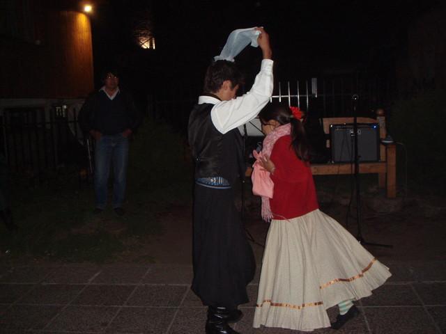 baile en San Martin de los Andes