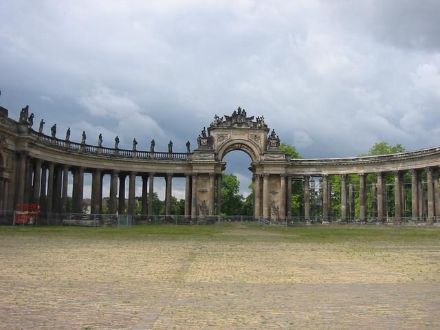 Potsdam Tor beim neuen Palais