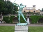 Potsdam Orangerieschloss mit Amor