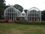 Pavillons im botanischen Garten in Birmingham
